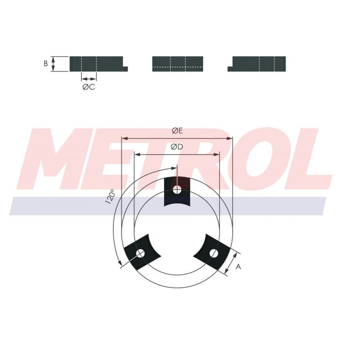 Foot 120F Mounting Option