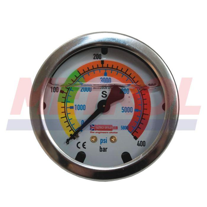 MET8221 63mm Diameter Manometer