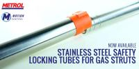 Introducing our new range of stainless-steel safety locking tubes