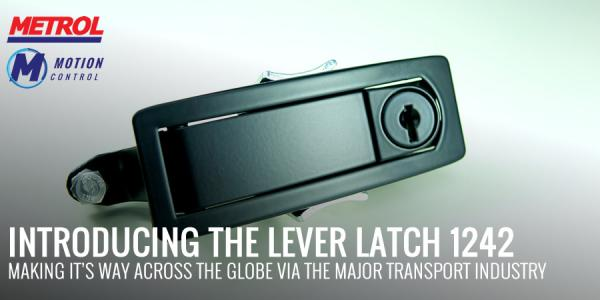 Introducing the range of 1242 lever latches