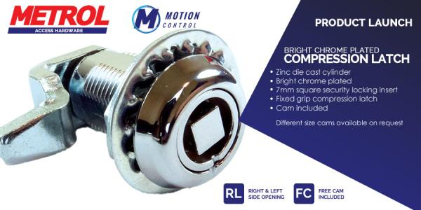 New product – Bright Chrome Compression Latch