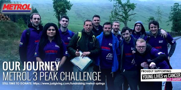 Metrol 3 Peaks Challenge: Our Journey