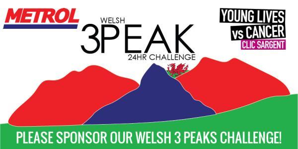 Metrol Welsh 3 Peaks Challenge