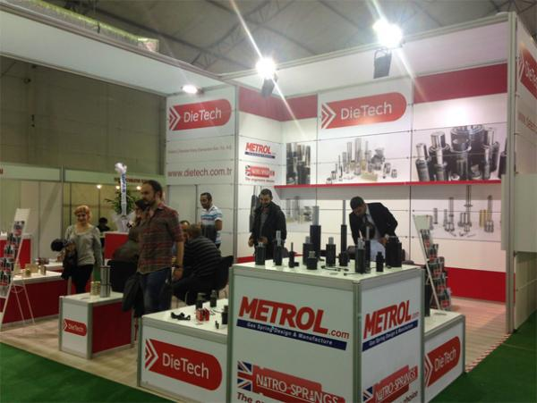 Metrol Springs Limited at the Mould Eurasia 2014 Fair