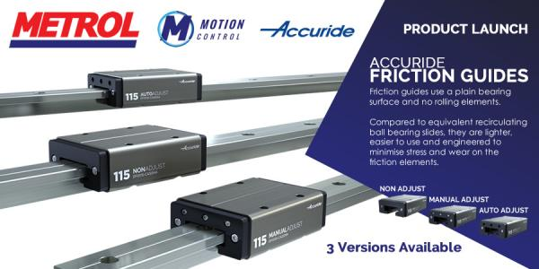 Friction Guides Made Easy With Accuride's Engineering Excellence