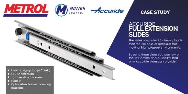 Accuride Full Extension Slides