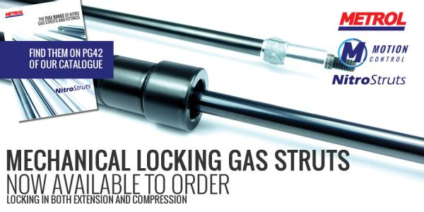 Now available: Mechanical Locking Struts