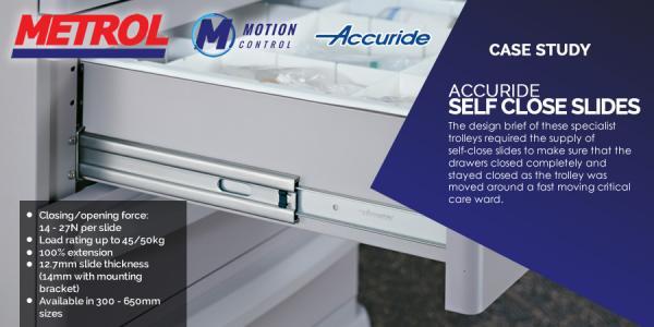 Accuride Self Close Slide