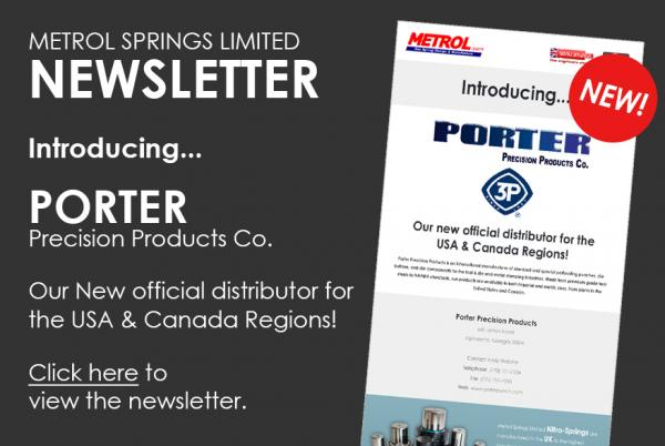 Metrol Newsletter - Introducing Porter Precision Products Co.
