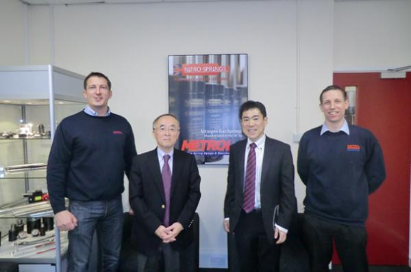 Taihei Boeki Co. Ltd visit Metrol Springs Limited