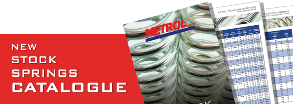 NEW! Metrol Stock Springs Catalogue