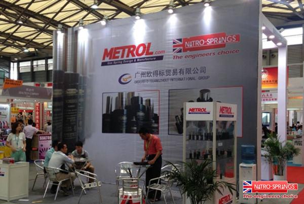 Metrol Springs Limited will be Exhibiting at Die and Mould China 2015