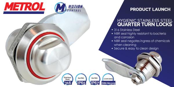 New to the store! - Hygienic Stainless Steel Quarter Turn Locks