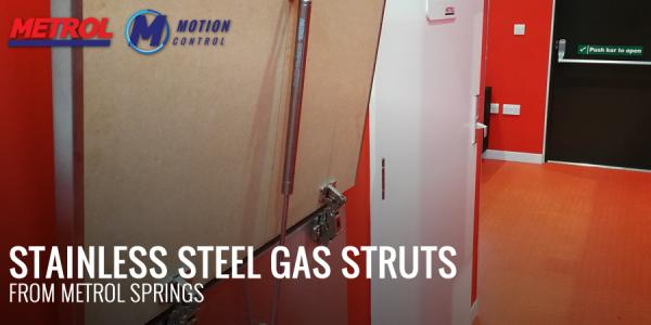 Stainless Steel Gas Struts From Metrol