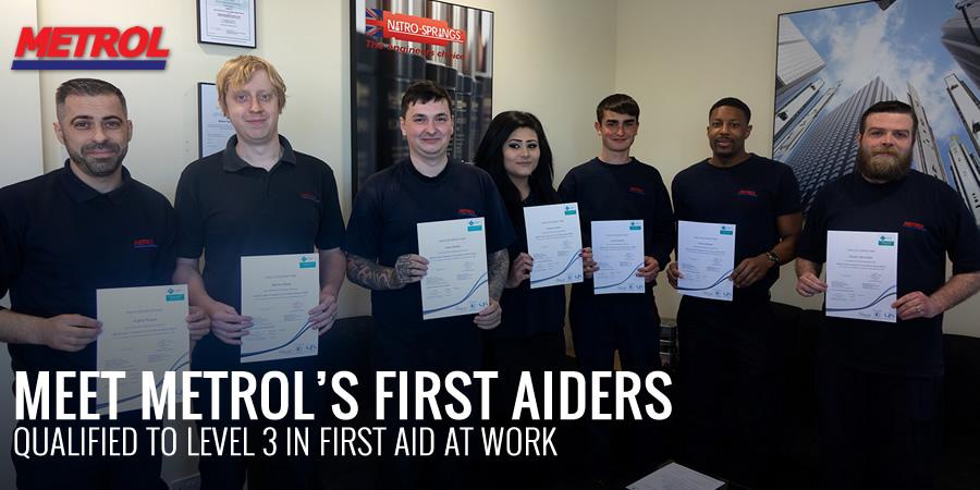 Meet Metrol's First Aiders