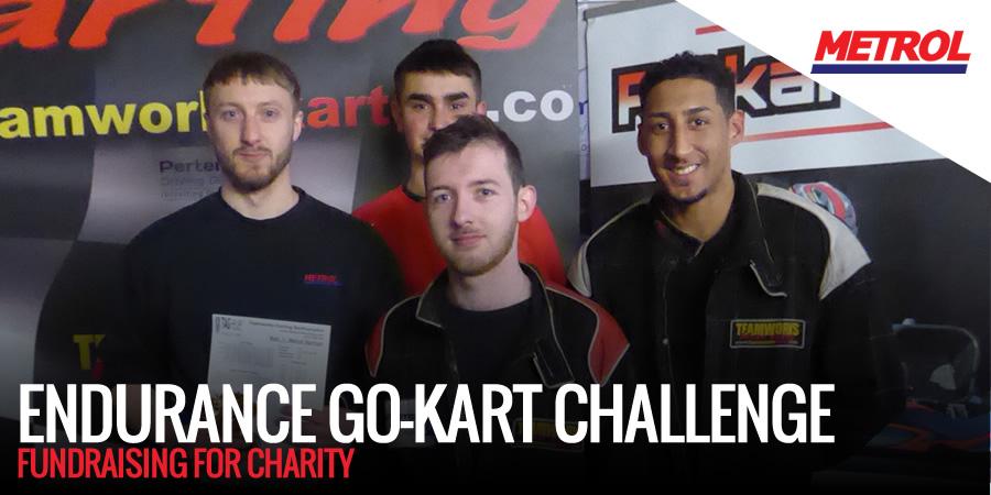 Metrol racing to raise funds