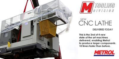 New CNC Machine delivered