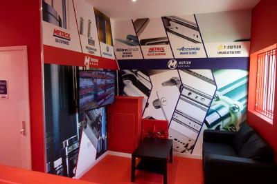 Metrol's new reception area