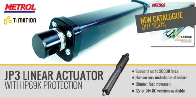 Ti-Motion JP3 inline Linear Actuator is now available