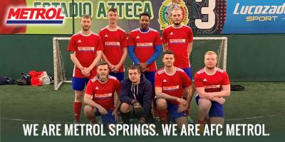 AFC Metrol Kitted out