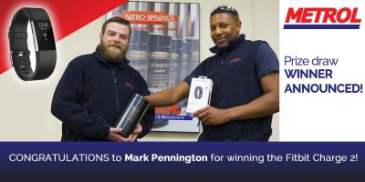 Prize Draw Winner Announced