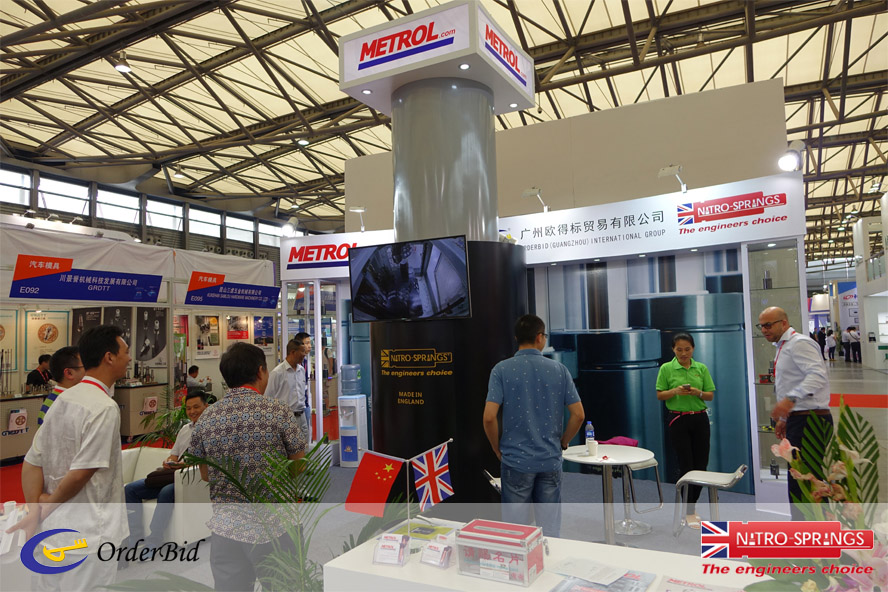 Metrol Springs at Die and Mould China Exhibition