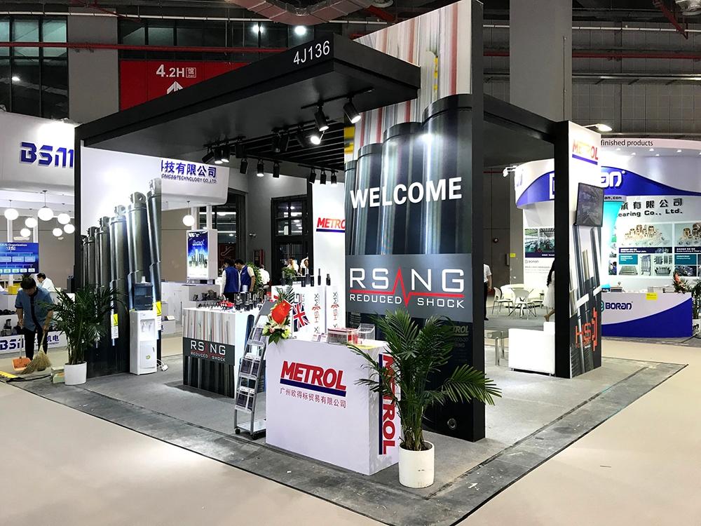 Metrol Springs DMC 2018 Exhibition Stand