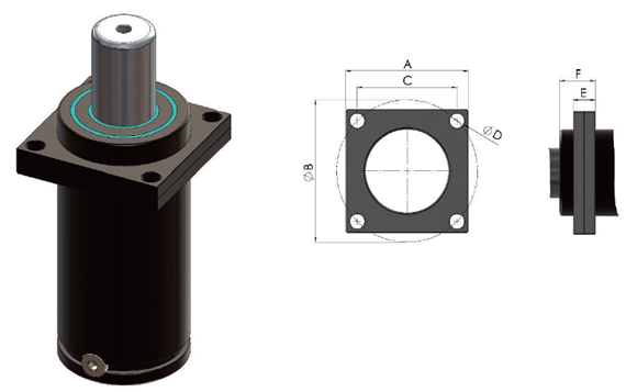 Square Front Flange (SFF)