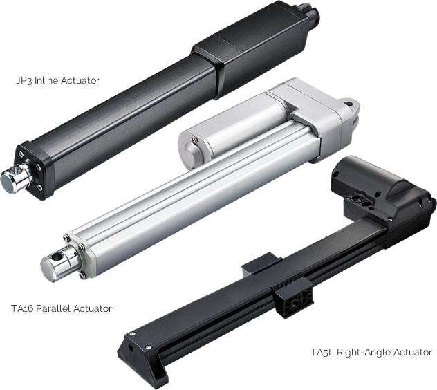 Right Angle Actuator : Timotion linear actuators