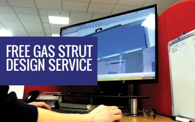 Free Gas Struts Design Service
